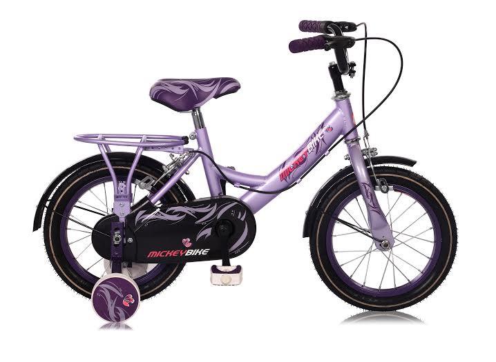 14 zoll m dchen kinder fahrrad kinderfahrrad m dchenfahrrad mickeybike ebay. Black Bedroom Furniture Sets. Home Design Ideas