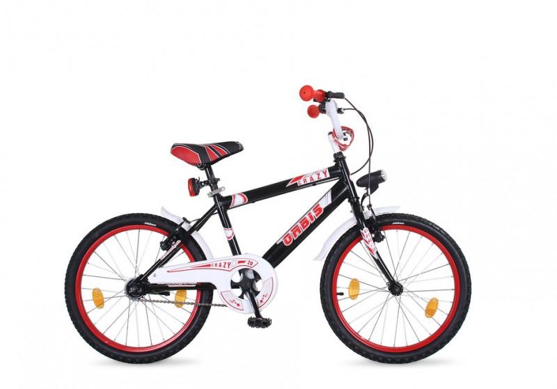 20 zoll kinder fahrrad crazy classic schwarz fahrr der. Black Bedroom Furniture Sets. Home Design Ideas