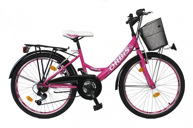 26 zoll kinder fahrrad cityfahrrad m dchenfahrrad stvo voltage lady pink fahrr der. Black Bedroom Furniture Sets. Home Design Ideas
