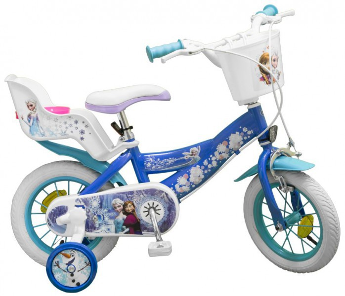 12 zoll m dchenfahrrad kinderfahrrad fahrrad frozen disney. Black Bedroom Furniture Sets. Home Design Ideas