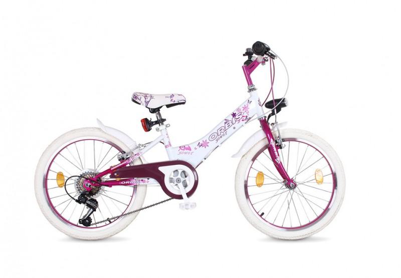 20 zoll m dchen kinder fahrrad kinderfahrrad jewel. Black Bedroom Furniture Sets. Home Design Ideas
