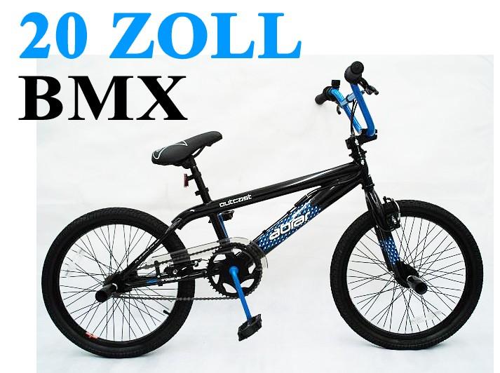 20 zoll bmx kinder fahrrad rad kinderfahrrad jugendfahrrad freestyle 4 pegs neu ebay. Black Bedroom Furniture Sets. Home Design Ideas
