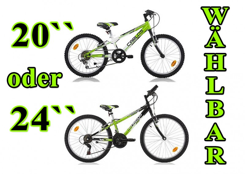 20 24 zoll kinderfahrrad mountainbike kinder fahrrad jugendfahrrad kinderrad neu. Black Bedroom Furniture Sets. Home Design Ideas