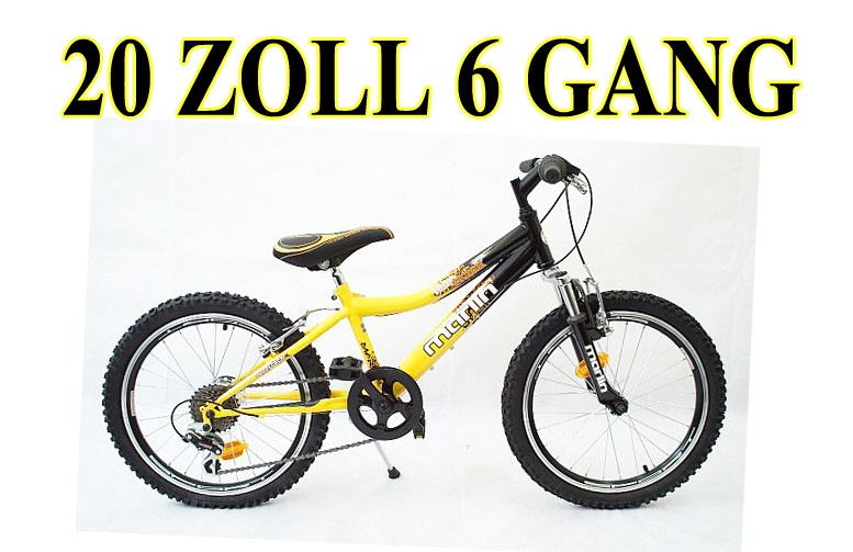 20 zoll kinderfahrrad mountainbike fahrrad jugendfahrrad. Black Bedroom Furniture Sets. Home Design Ideas