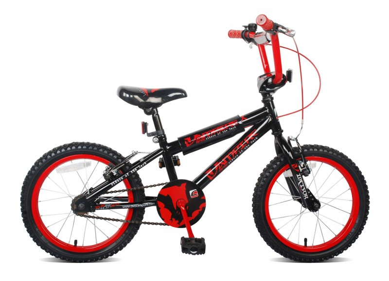 16 zoll bmx fahrrad rad kinderfahrrad kinderrad vampire. Black Bedroom Furniture Sets. Home Design Ideas