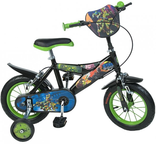 12 14 16 12 14 16 zoll kinderfahrrad disney ninja. Black Bedroom Furniture Sets. Home Design Ideas