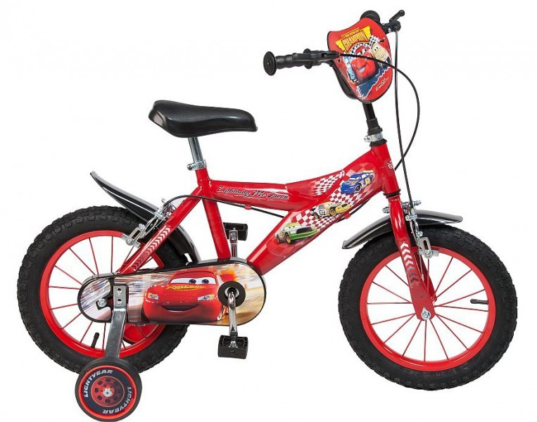 14 14 zoll fahrrad kinderfahrrad disney cars mcqueen. Black Bedroom Furniture Sets. Home Design Ideas