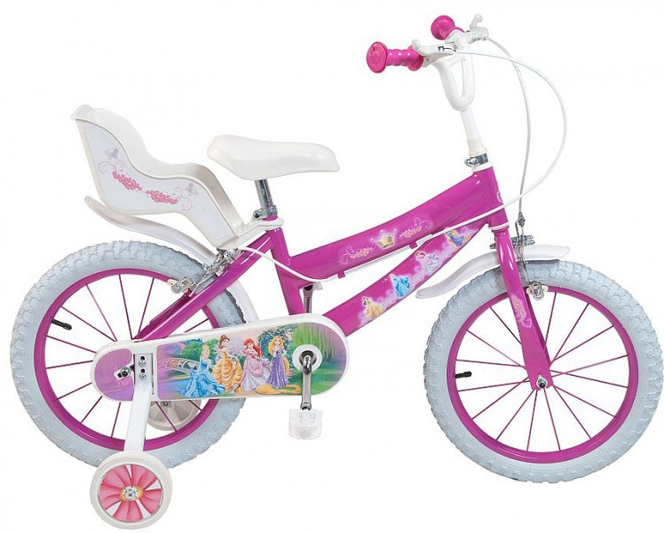 16 zoll disney fahrrad princess prinzessin kinderfahrrad. Black Bedroom Furniture Sets. Home Design Ideas