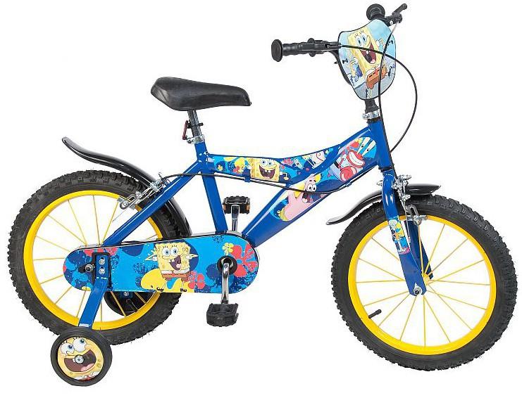 spongebob fahrrad