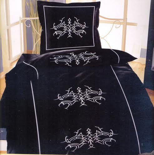 2 tlg bettw sche microfaser 155x220 cm w hlbar bettw sche. Black Bedroom Furniture Sets. Home Design Ideas