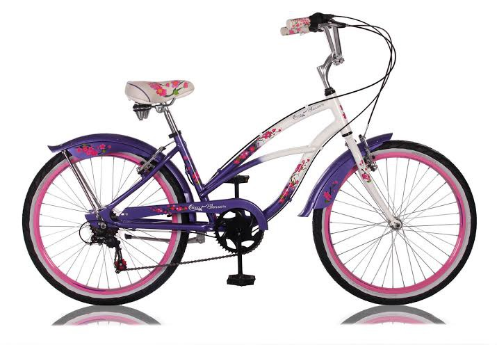 24 26 zoll beachcruiser kinder m dchen damen cruiser fahrrad cherry blossom ebay. Black Bedroom Furniture Sets. Home Design Ideas