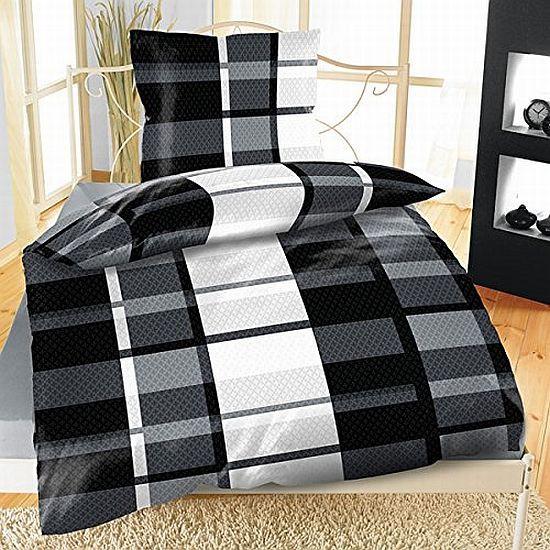 4 tlg winter flausch fleece bettw sche mikrofaser 135x 200 cm thermofleece weich ebay. Black Bedroom Furniture Sets. Home Design Ideas