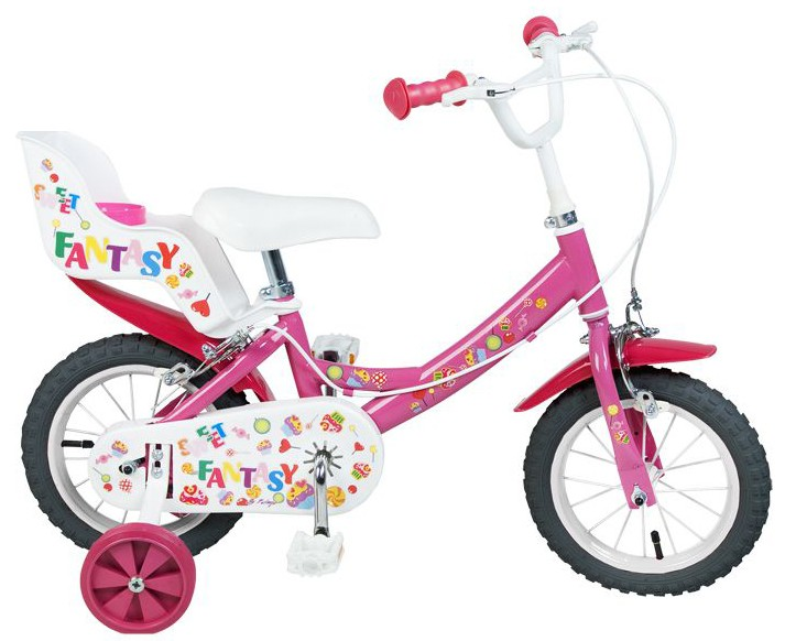 12 zoll kinderfahrrad m dchenfahrrad sweet fantasy pink. Black Bedroom Furniture Sets. Home Design Ideas