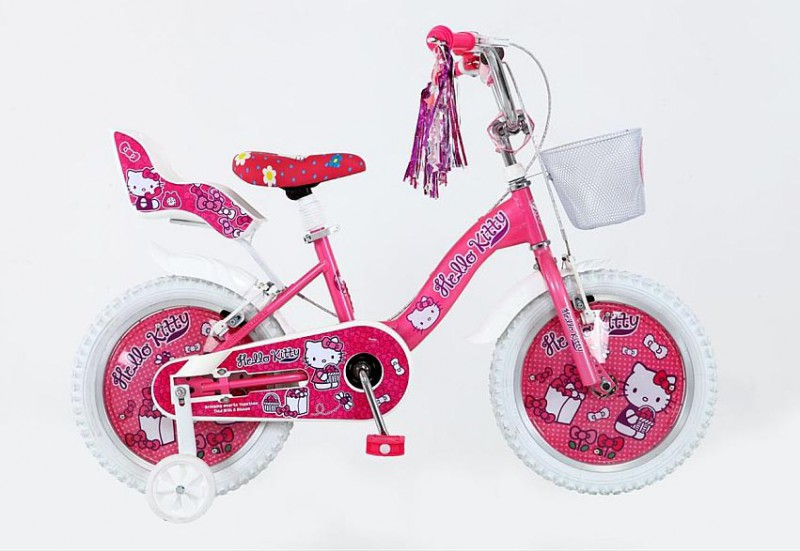 12 14 16 20 zoll kinderfahrrad m dchen fahrrad hello kitty. Black Bedroom Furniture Sets. Home Design Ideas