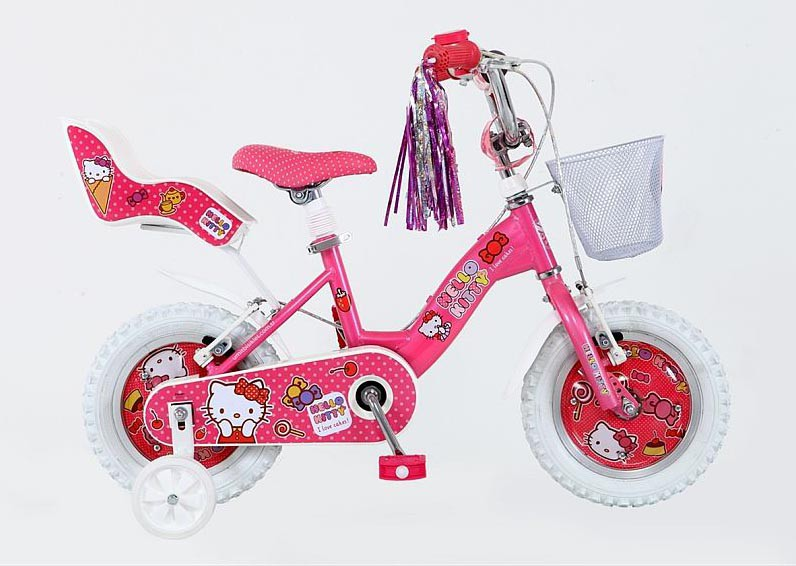 14 zoll kinderfahrrad m dchen fahrrad hello kitty 1416. Black Bedroom Furniture Sets. Home Design Ideas