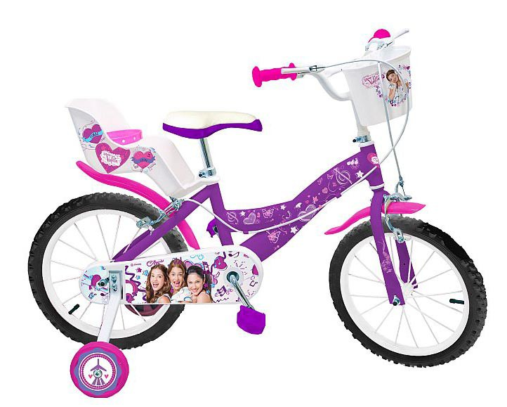 16 20 zoll disney violetta kinder m dchen kinderfahrrad. Black Bedroom Furniture Sets. Home Design Ideas