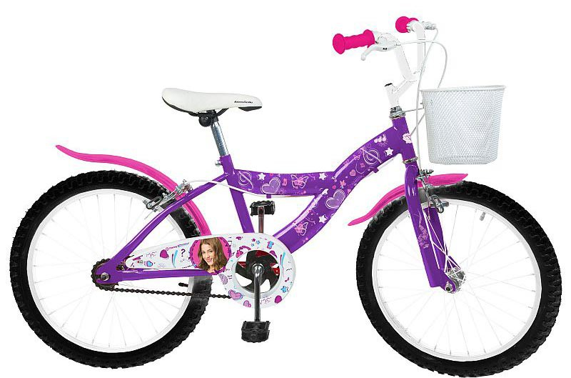 16 20 zoll kinderfahrrad disney violetta w hlbar fahrr der. Black Bedroom Furniture Sets. Home Design Ideas