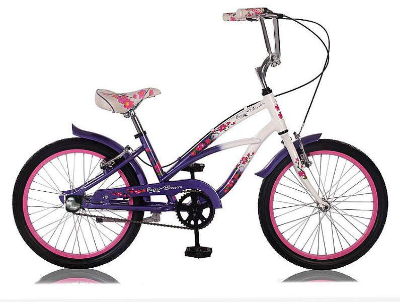 24 zoll beachcruiser m dchen kinder cruiser fahrrad bike 3. Black Bedroom Furniture Sets. Home Design Ideas