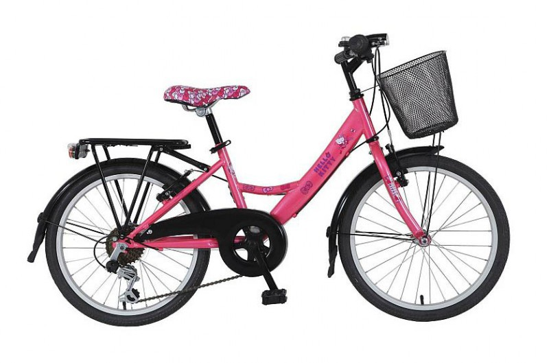 20 24 26 zoll kinderfahrrad m dchen city damen bike city rad fahrrad hello kitty ebay. Black Bedroom Furniture Sets. Home Design Ideas
