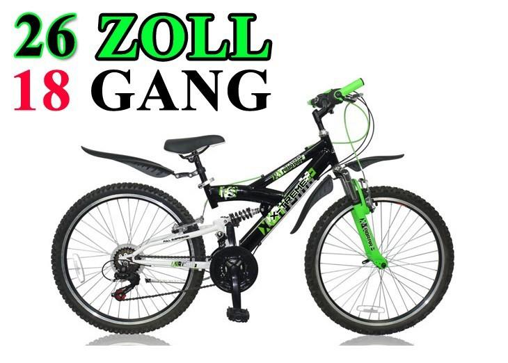 26 zoll kinderfahrrad kinder mountainbike bike fahrrad. Black Bedroom Furniture Sets. Home Design Ideas