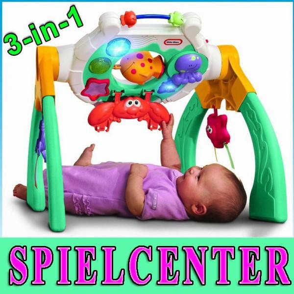 spielcenter play gym activity baby spielbogen spielzeug ebay. Black Bedroom Furniture Sets. Home Design Ideas