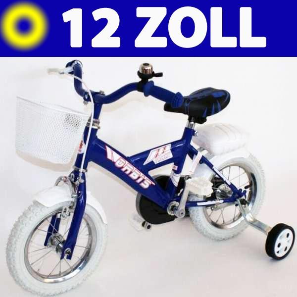 12 zoll kinder fahrrad kinderfahrrad bmx rad blau. Black Bedroom Furniture Sets. Home Design Ideas