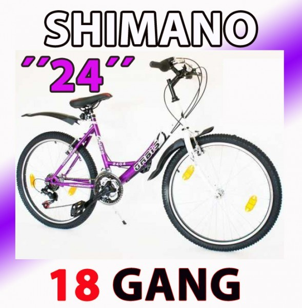 24 zoll m dchenfahrrad kinderfahrrad shimano mountainbike fahrrad 18 gang ebay. Black Bedroom Furniture Sets. Home Design Ideas