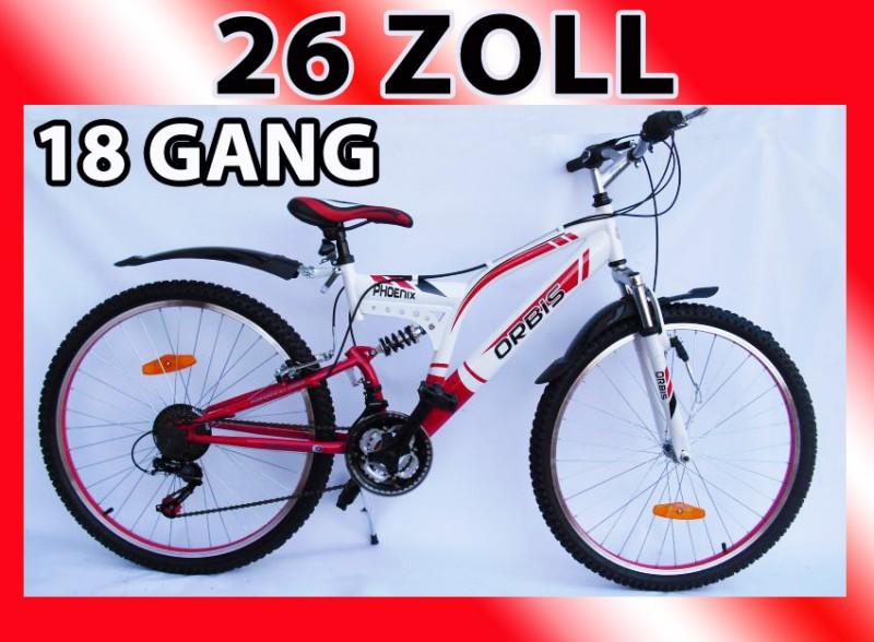 26 zoll mountainbike jugendfahrrad fahrrad herrenfahrrad rad shimano 18 gang ebay. Black Bedroom Furniture Sets. Home Design Ideas
