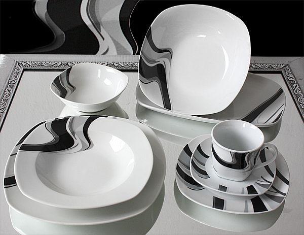 porzellan 38 tlg tafelservice teller set geschirr 6 personen essservice tafelset ebay. Black Bedroom Furniture Sets. Home Design Ideas