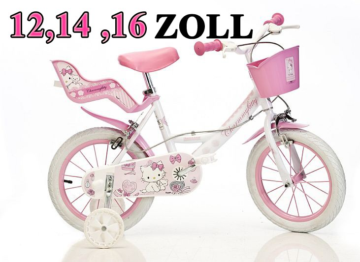 12 14 16 zoll kinderfahrrad fahrrad m dchenfahrrad. Black Bedroom Furniture Sets. Home Design Ideas