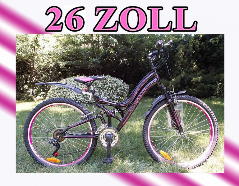 26 oder 24 zoll mountainbike jugendfahrrad fahrrad. Black Bedroom Furniture Sets. Home Design Ideas