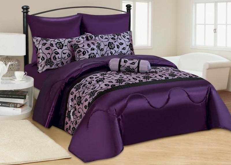 7 tlg moderne tagesdecke bett berwurf 240x260cm w hlbar bettw sche. Black Bedroom Furniture Sets. Home Design Ideas