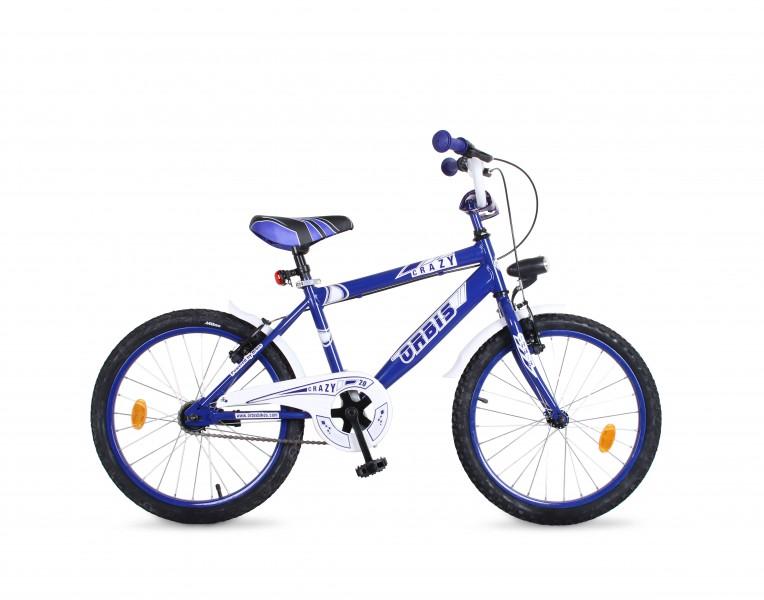 20 zoll kinder fahrrad crazy classic blau fahrr der. Black Bedroom Furniture Sets. Home Design Ideas