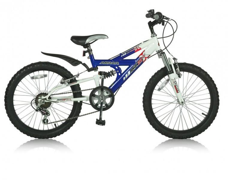 20 zoll kinderfahrrad mountainbike abrar mx blau fahrr der. Black Bedroom Furniture Sets. Home Design Ideas